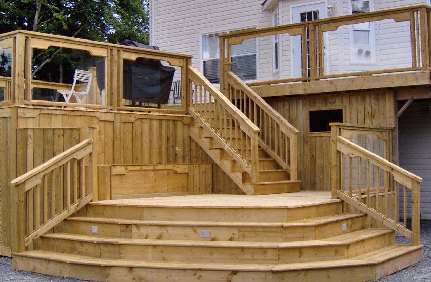 Stark builders inc deck building for Deck building plans